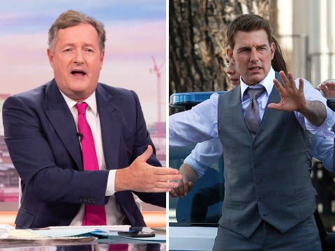 Piers Morgan impersonates Tom Cruise's epic rant as he worries Mission: Impossible star is 'on the edge'