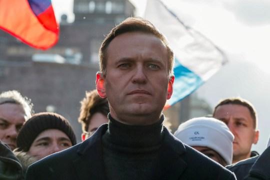 Le politicien d'opposition russe Alexei Navalny prend part à un rassemblement à Moscou, en Russie, le 29 février 2020.