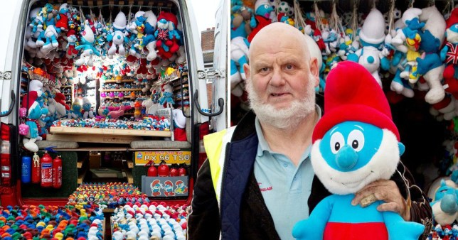 Papa smurf exposed as child rapist and jailed for 16yrs