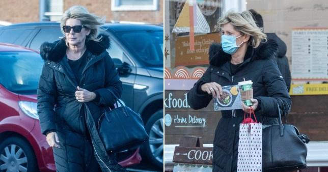 Ruth Langsford after being axed ?150 set