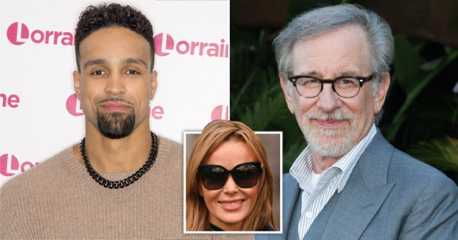 Britain's Got Talent's Amanda Holden compares Ashley Banjo to Steven Spielberg ahead of Diversity performance on Christmas special