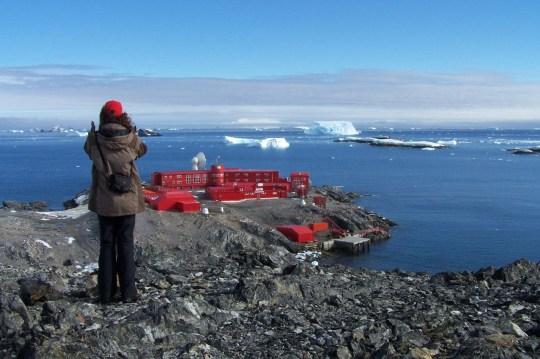 Général chilien Bernardo O'Higgins base de Riquelme en Antarctique