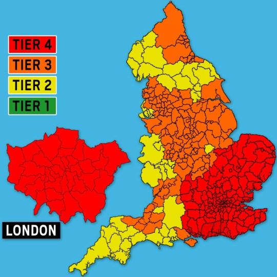 Metro.co.uk's tier map