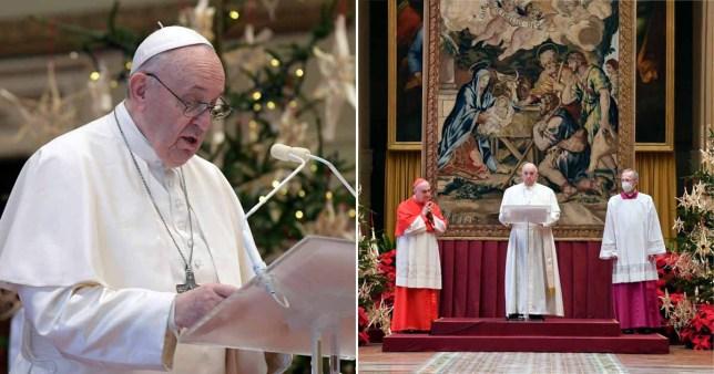 Le pape François a utilisé Urbi et Orbi de cette année pour exhorter les pays à se rassembler et à partager le vaccin afin que les pays plus pauvres ne soient pas laissés en attente du coup.