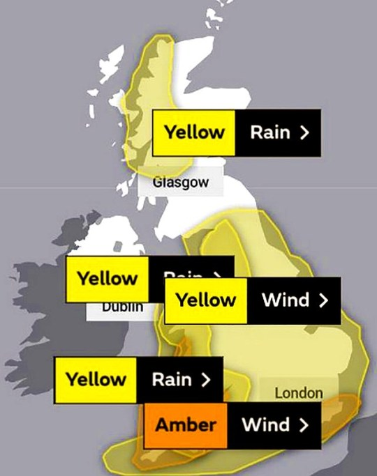 Snow and Ice weather warning met office