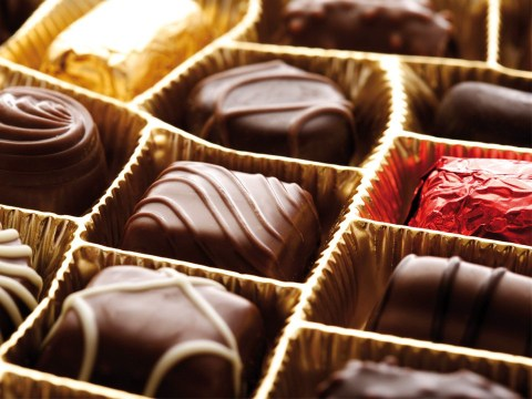 Too many boozy chocolates can put you over the legal driving limit
