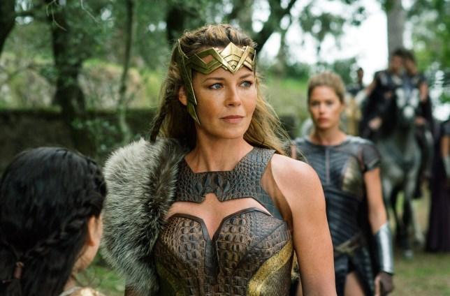 Connie Nielsen as Queen Hippolyta in Wonder Woman 1984