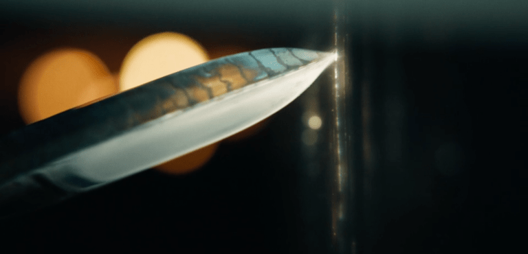 The Subtle Knife in His Dark Materials