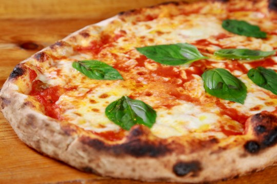 margherita pizza from VIP