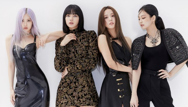 Rose, Lisa, Jisoo and Jennie of BLACKPINK
