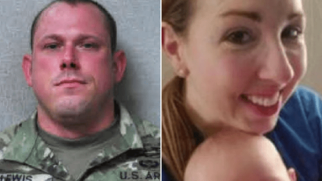Sgt Keith Lewis and Sarah Lewis