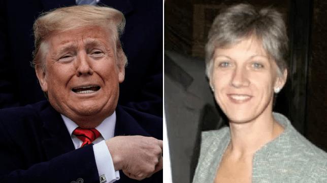 Donald Trump and Rosemary Vlabic
