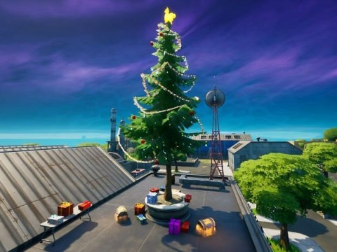 Fortnite Operation Snowdown: where to find the Holiday Trees