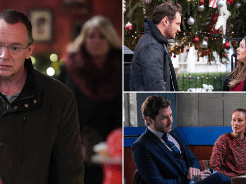 EastEnders Christmas spoilers: 43 new images reveal Ian's attacker, two shock affairs and murderer return twist