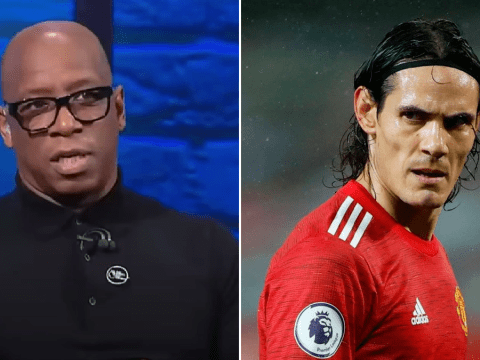 Ian Wright questions Manchester United's signing of Edinson Cavani and says they should have bought Erling Haaland