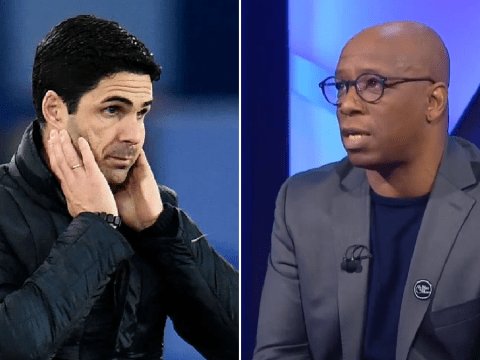 Ian Wright sends message to Arsenal board over Mikel Arteta after Everton loss