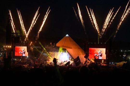 The Killers play Glastonbury Festival 2019