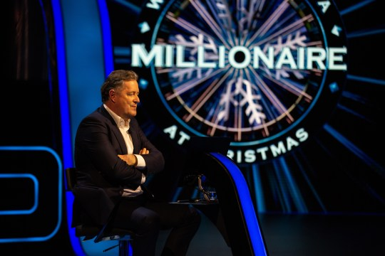 Piers Morgan on Who Wants To Be A Millionaire?