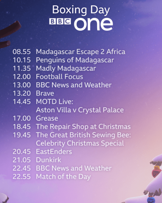 What is on BBC this Christmas and New Year? | Metro News
