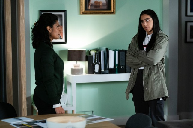 Ash and Suki in EastEnders