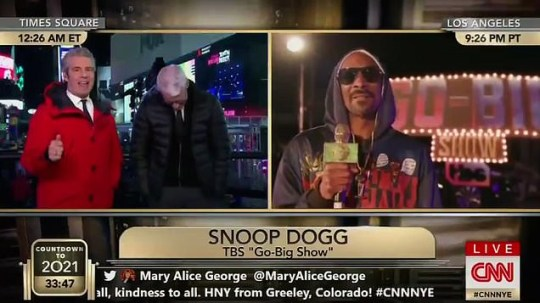 Anderson Cooper and Andy Cohen interview Snoop Dogg