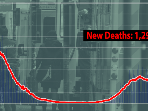 Another 1,295 people die with Covid as 41,346 new cases recorded