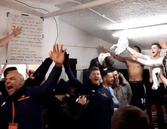 The scenes in Chorley's dressing room following their FA Cup win over Derby sparked concern among politicians and football chiefs