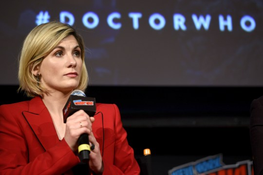 Jodie Whittaker at New York Comic Con 2018 -  Day 4