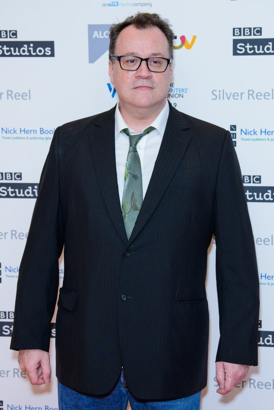 Russell T Davies at the Writers' Guild Awards 2019