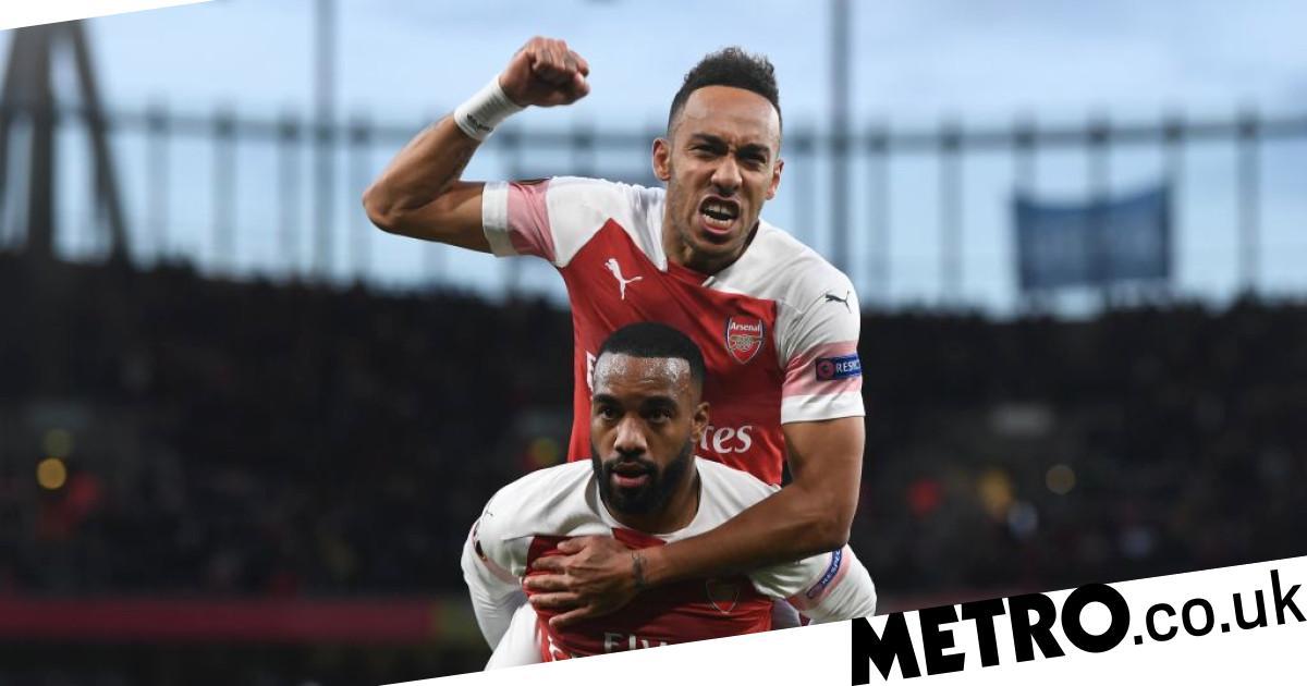 Pierre-Emerick Aubameyang concedes Mesut Ozil's no.10 shirt to Arsenal star Alexandre Lacazette - metro