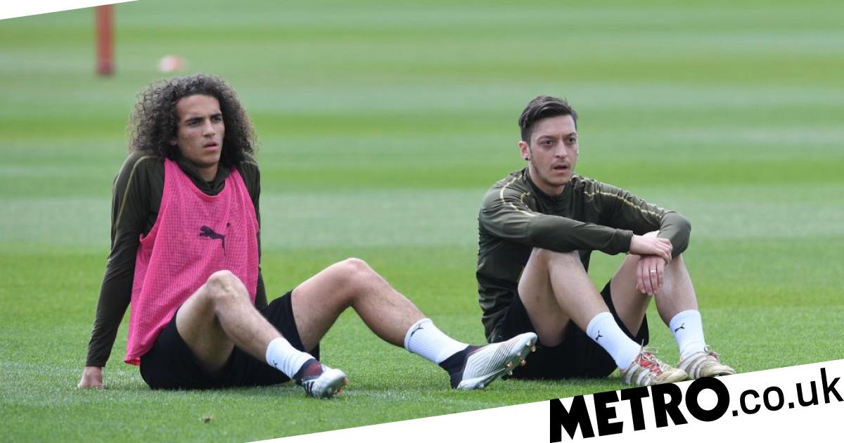 Matteo Guendouzi sends message to Mesut Ozil ahead of Arsenal exit