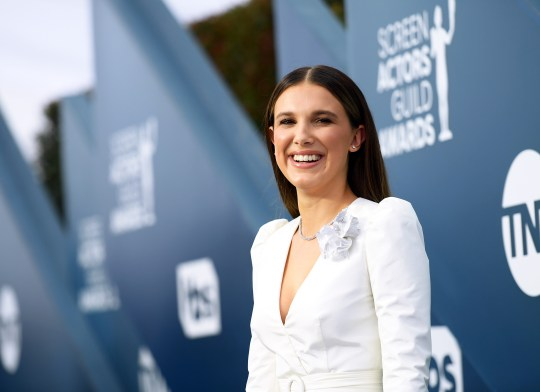 Millie Bobby Brown at the 26th Annual Screen ActorsGuild Awards - Red Carpet