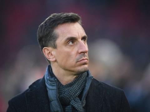 Gary Neville doubtful of Manchester United's Premier League title chances