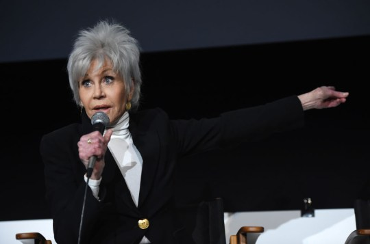 World Premiere Of F.T.A. with Jane Fonda