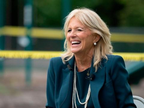 What does Jill Biden work as?