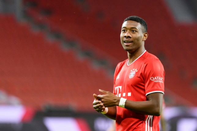 Liverpool make decision over David Alaba free transfer after talks with Bayern Munich star