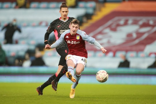 17-year-old Barry scored a class goal for Villa
