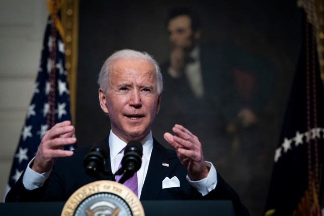 President Biden Discusses His Covid-19 Pandemic Plan At The White House
