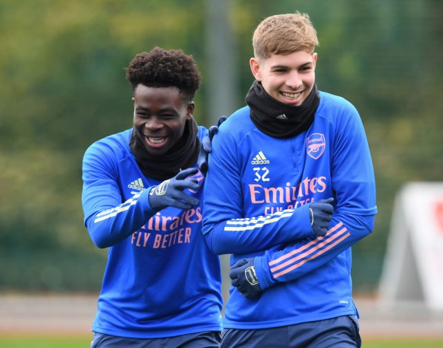 Arsenal's youngsters, including Saka and Smith Rowe have breathed new life into the side
