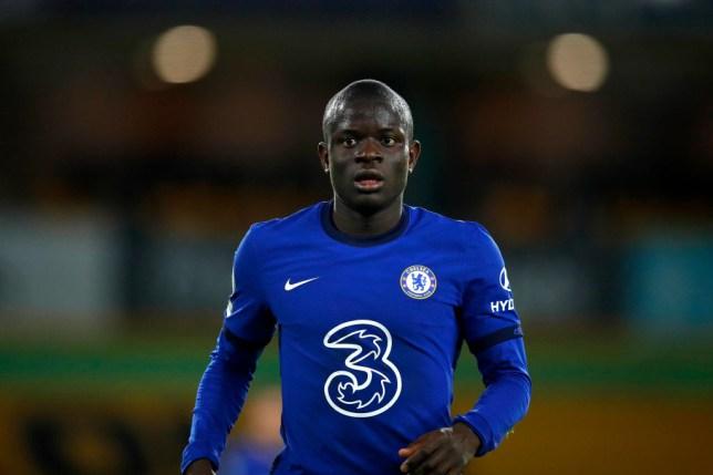Chelsea midfielder N'Golo Kante has suffered a hamstring injury