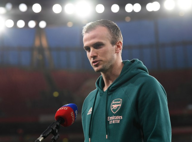 Arsenal defender Rob Holding has signed a new long-term contract