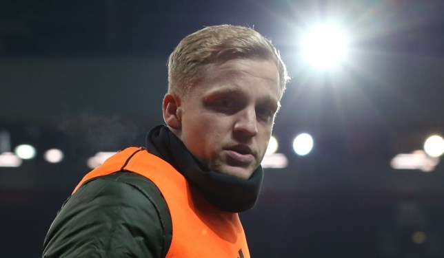 Donny van de Beek is struggling to make an impact at Manchester United