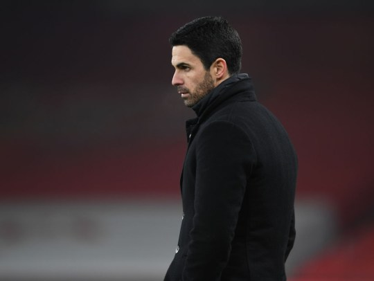 Arteta was initially weary over the extent of Martinelli's injury