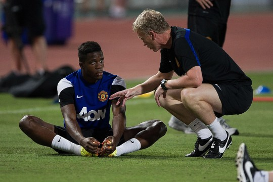 Wilfried Zaha says he did not express his personality under David Moyes at Manchester United