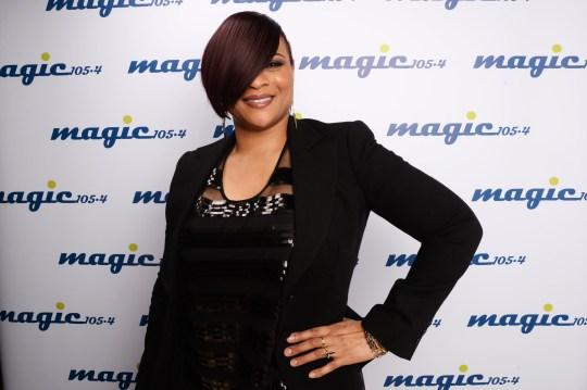 Gabrielle at Magic FM Sparkle Gala - Backstage