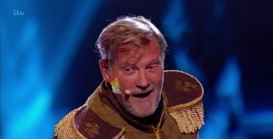 Glenn Hoddle on The Masked Singer UK