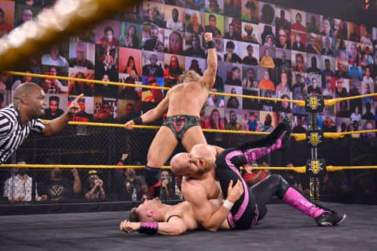 WWE NXT superstars Zack Gibson and James Drake - Grizzled Young Veterans - in the Dusty Cup