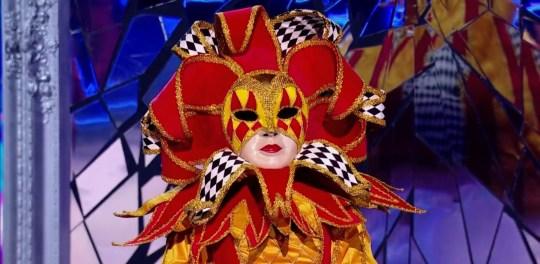Harlequin on The Masked Singer