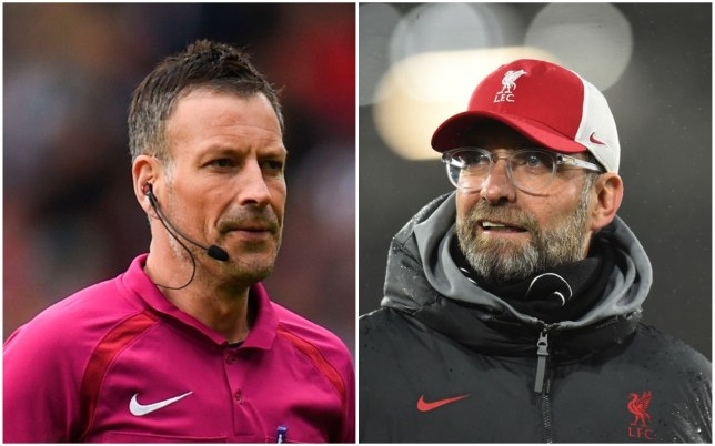 Mark Clattenburg has accused Jurgen Klopp of attempting to influences referees ahead of Liverpool's clash with Manchester United this weekend