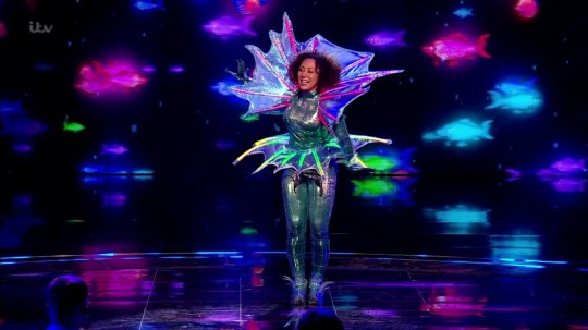 Mel B on The Masked Singer UK